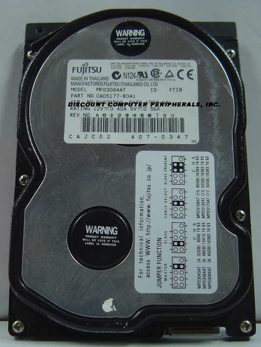 Fujitsu MPD3084AT