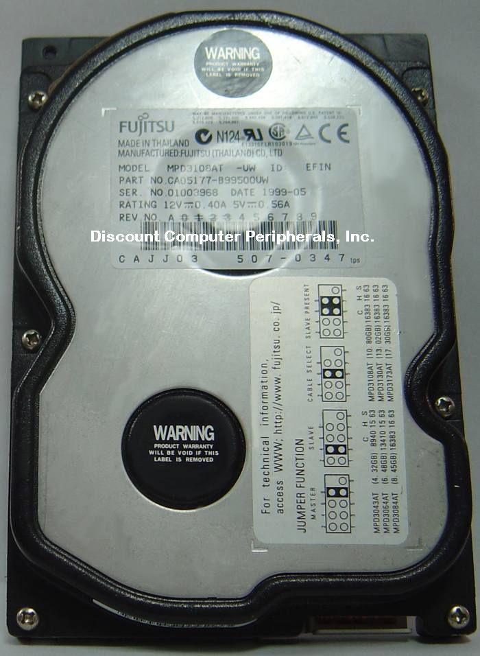 Fujitsu MPD3108AT