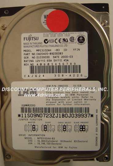 Fujitsu MPE3102AH