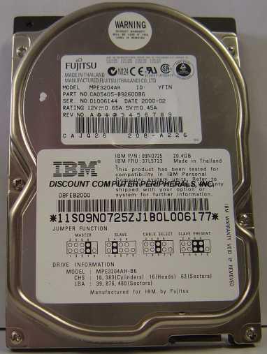 Fujitsu MPE3204AH