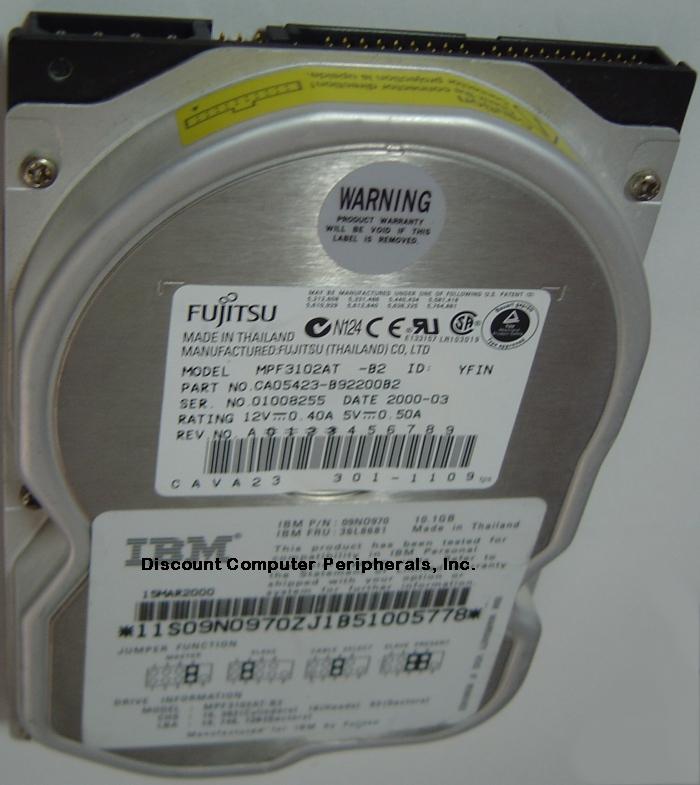 Fujitsu MPF3102AT