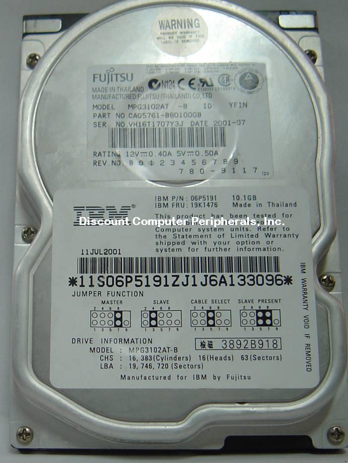 Fujitsu MPG3102AT