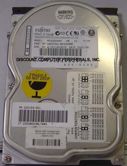 Fujitsu MPG3204AH