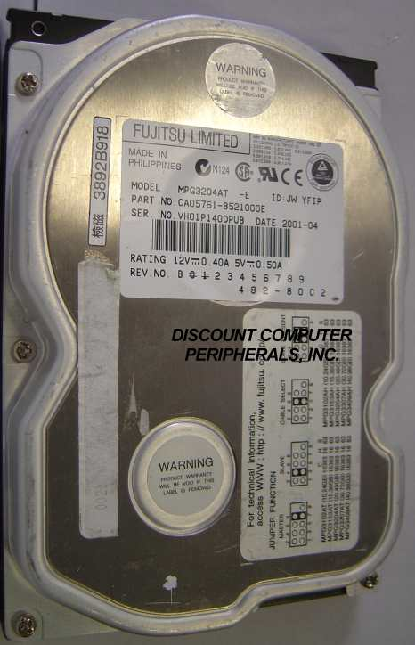 Fujitsu MPG3204AT