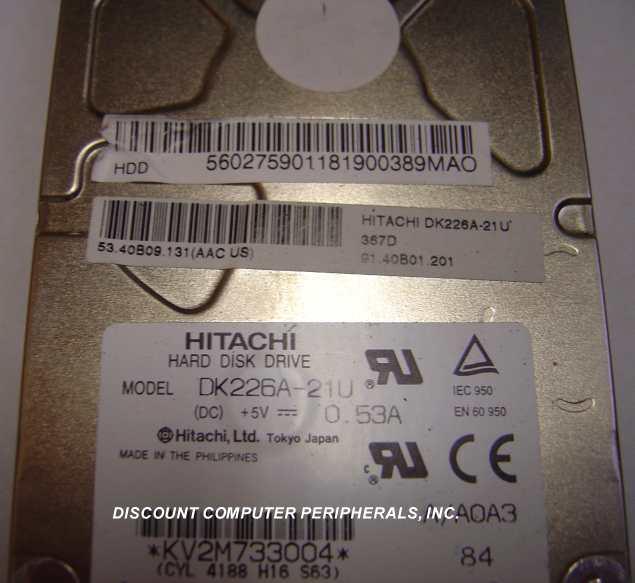 Hitachi DK226A-21U