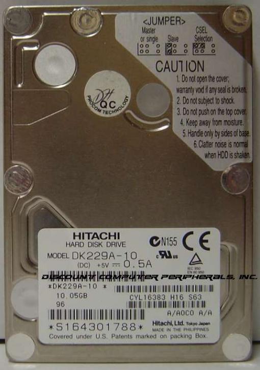 Hitachi DK229A-10