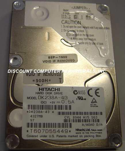 Hitachi DK238A-43