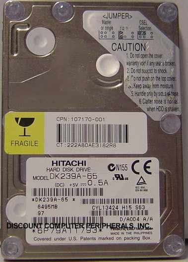 Hitachi DK239A-65