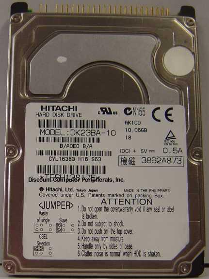 Hitachi DK23BA-10