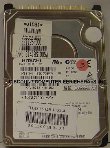 Hitachi DK23BA-15
