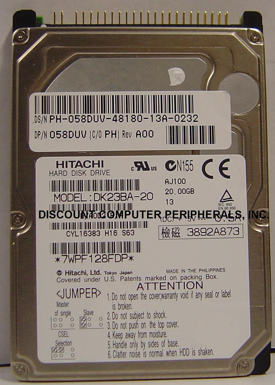 Hitachi DK23BA-20