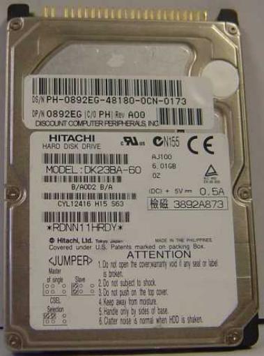 Hitachi DK23BA-60