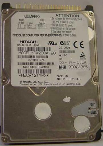 Hitachi DK23CA-20