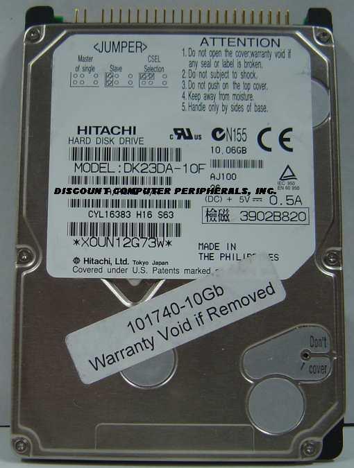 Hitachi DK23DA-10F