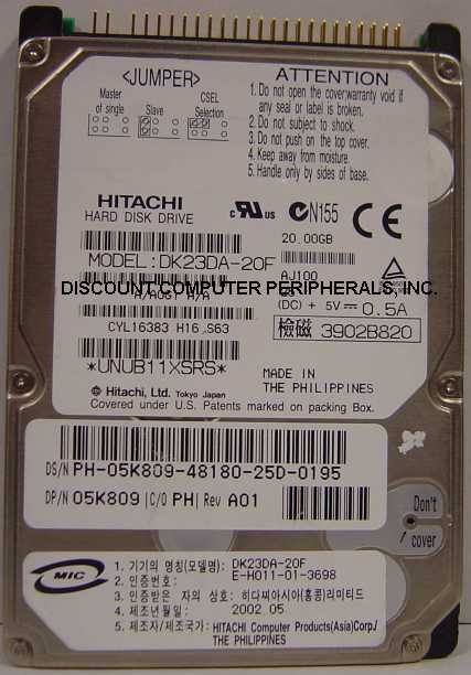 Hitachi DK23DA-20F