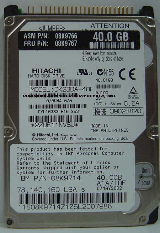 Hitachi DK23DA-40F