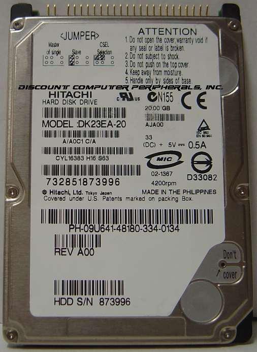 Hitachi DK23EA-20