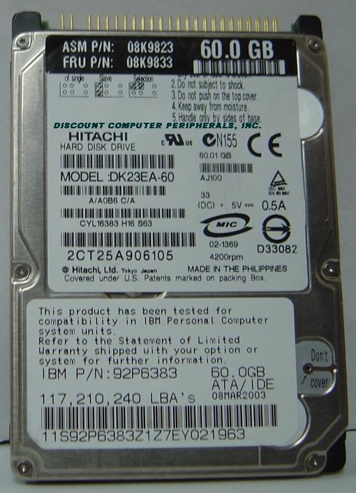Hitachi DK23EA-60