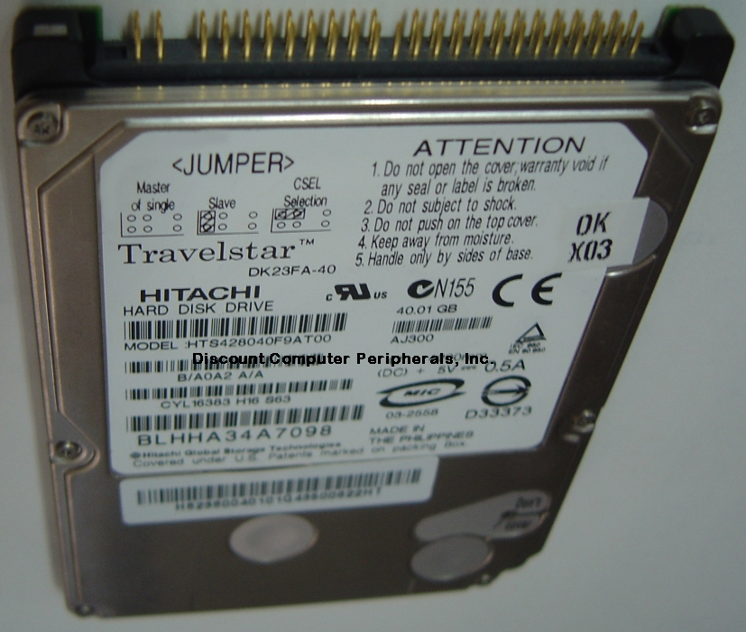 Hitachi DK23FA-40