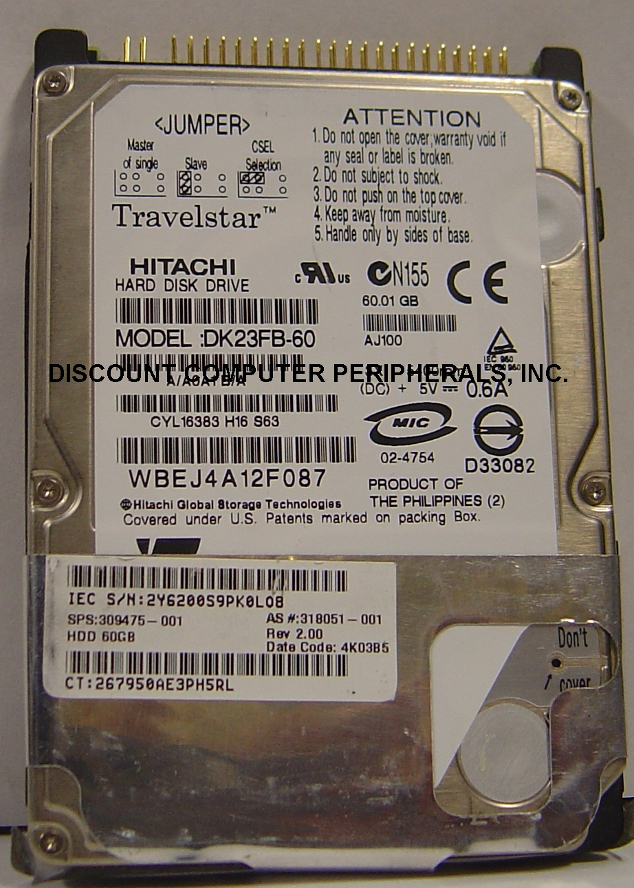 Hitachi DK23FB-60