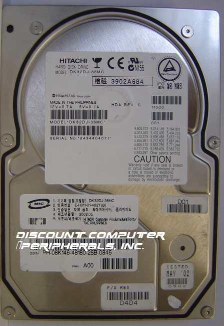 Hitachi DK32DJ-36MC