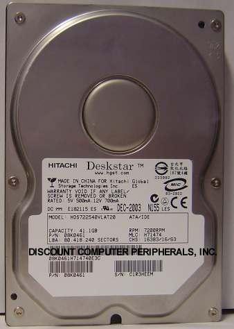 Hitachi HDS722540VLAT20