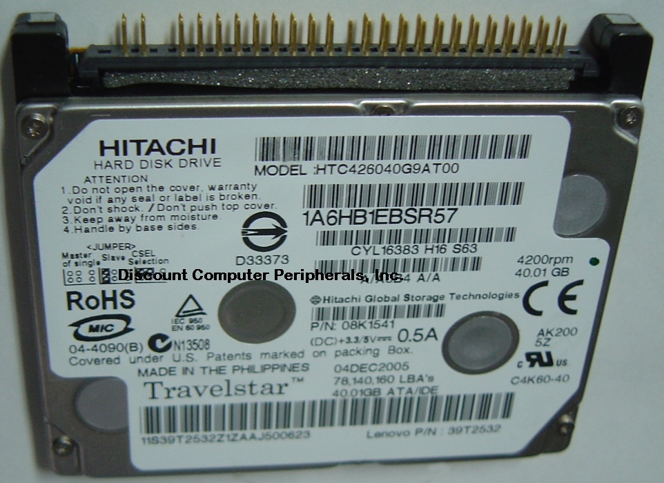 Hitachi HTC426040G9AT00