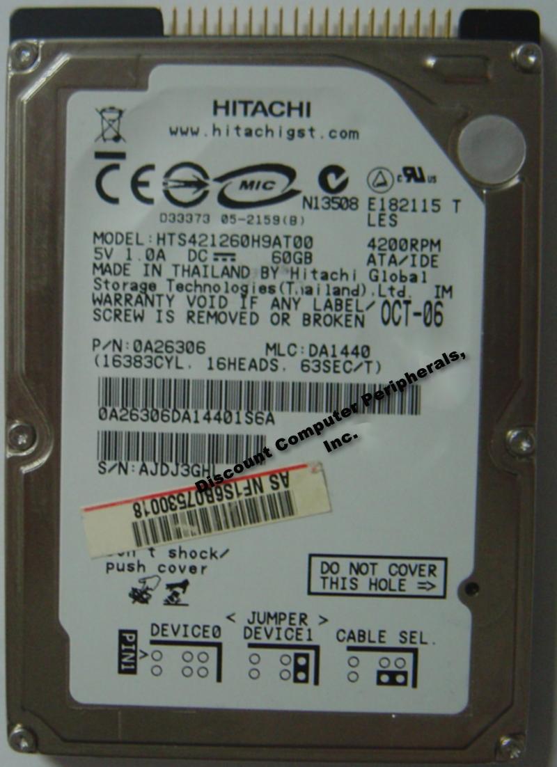Hitachi HTS421260H9AT00