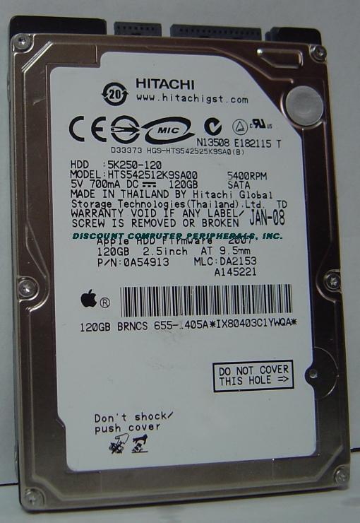 Hitachi HTS542512K9SA00