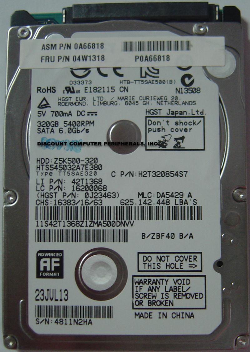 Hitachi HTS545032A7E380