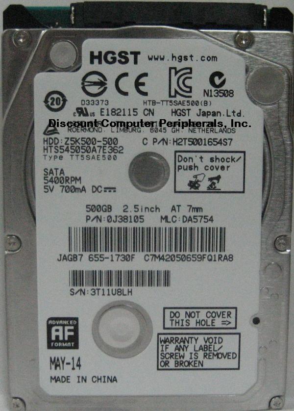 Hitachi HTS545050A7E362