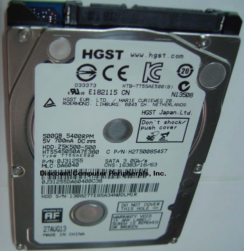 Hitachi HTS545050A7E380
