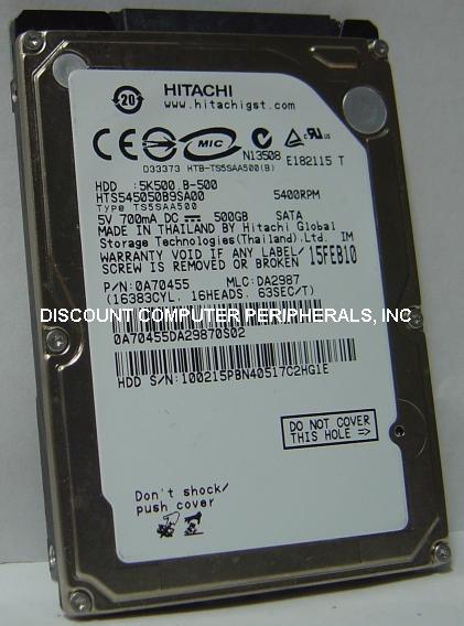 Hitachi HTS545050B9SA00