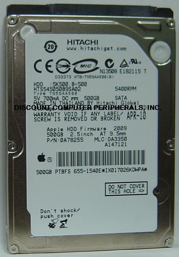 Hitachi HTS545050B9SA02