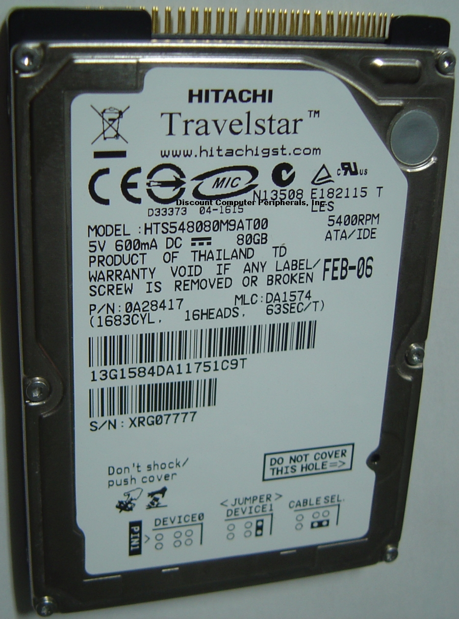 Hitachi HTS548080M9AT00_NEW