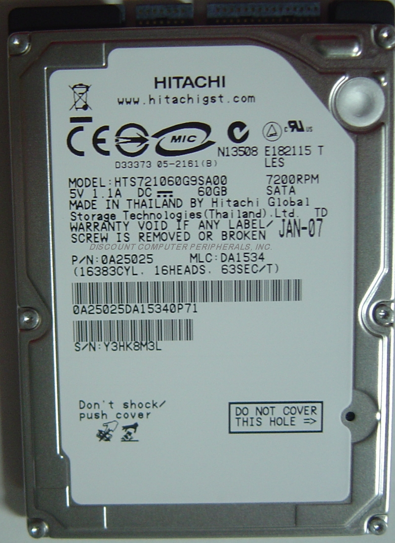 Hitachi HTS721060G9SA00_NEW