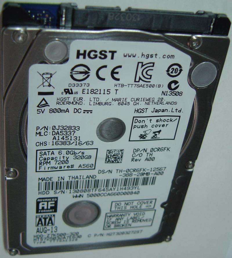 Hitachi HTS725032A7E630
