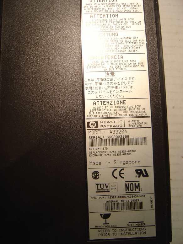 HP A3320A