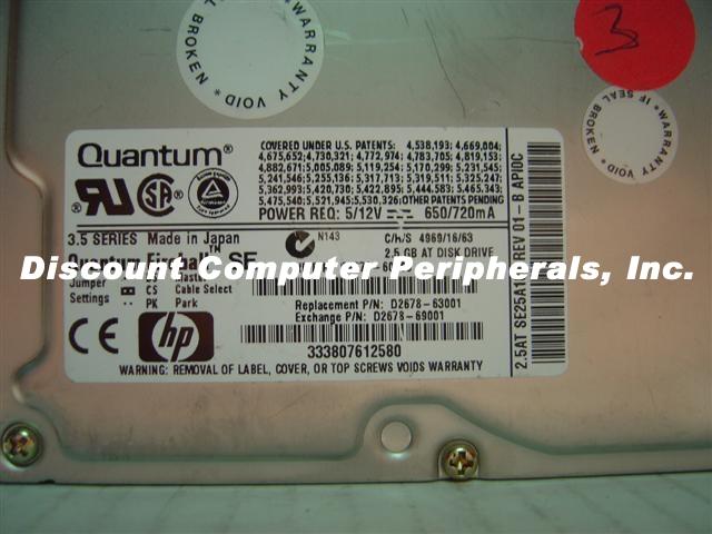 HP D2678-60102