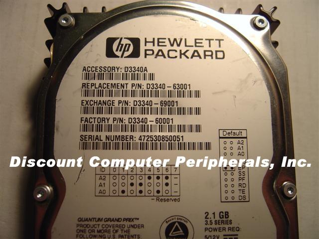Hp D3340A