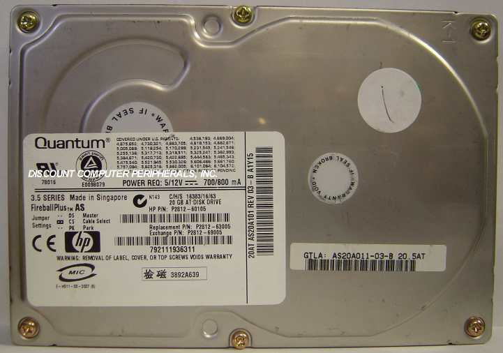 HP P2812-60105