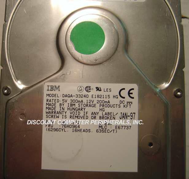 Ibm DAQA-33240