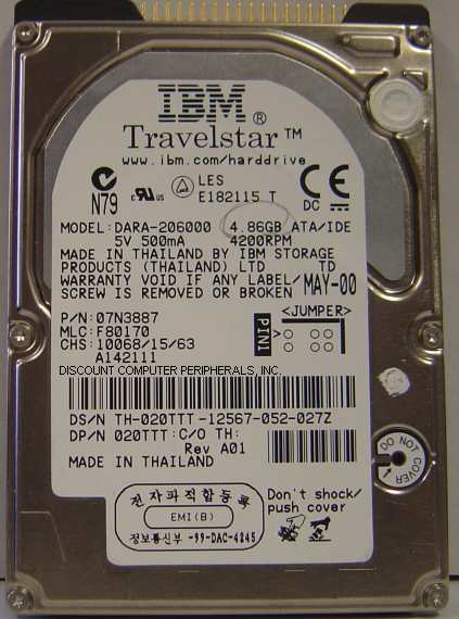 Ibm DARA-206000_4GB