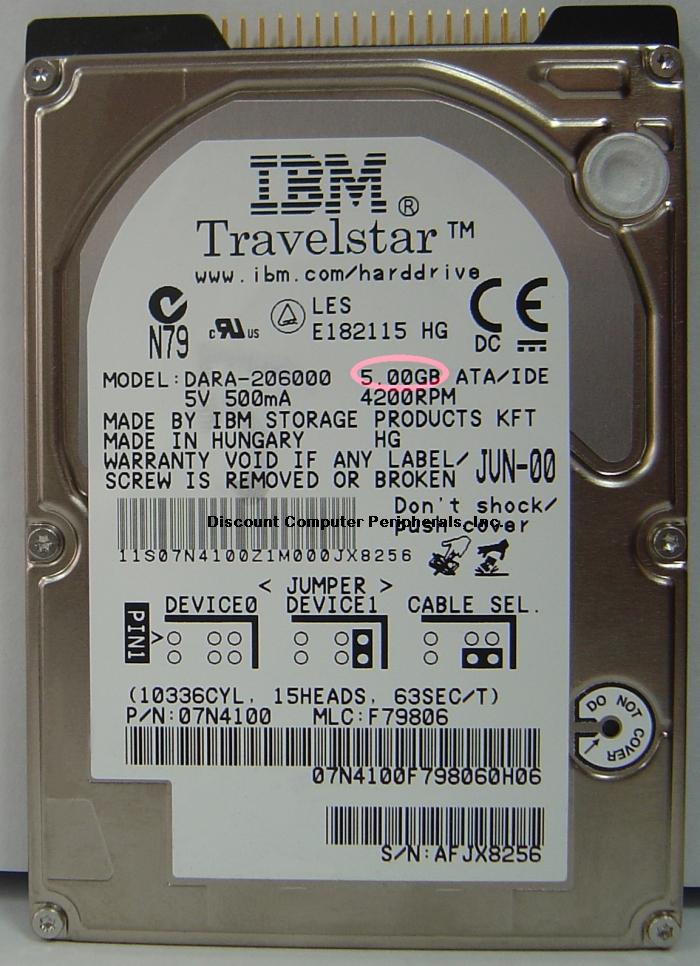 Ibm DARA-206000_5GB
