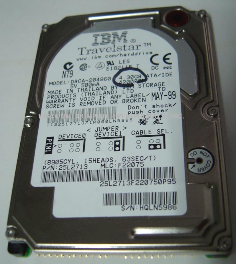 Ibm DBCA-204860_4_30GB
