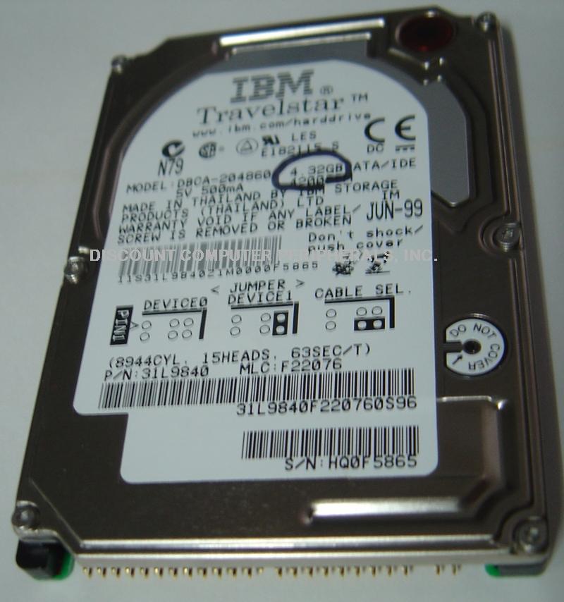 Ibm DBCA-204860_4_32GB