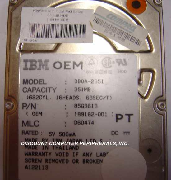 Ibm DBOA-2351