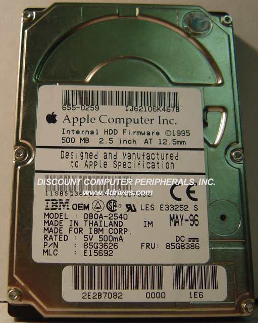 IBM DBOA-2540