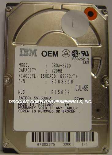 IBM DBOA-2720