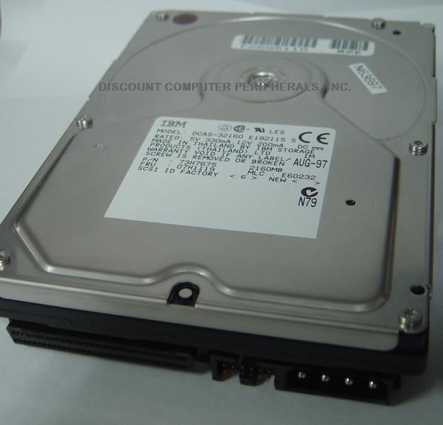 IBM DCAS-32160_68PIN